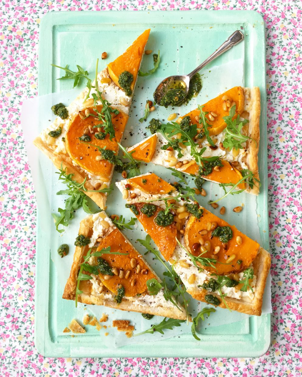 butternut squash tart with feta. sharon hearne-smith