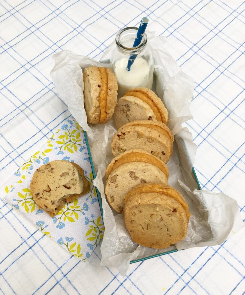pecan and salted caramel butter cookies, sharon hearne-smith