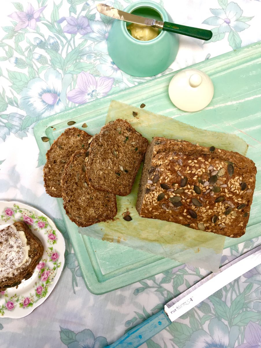 Seeded Irish Brown Soda Bread