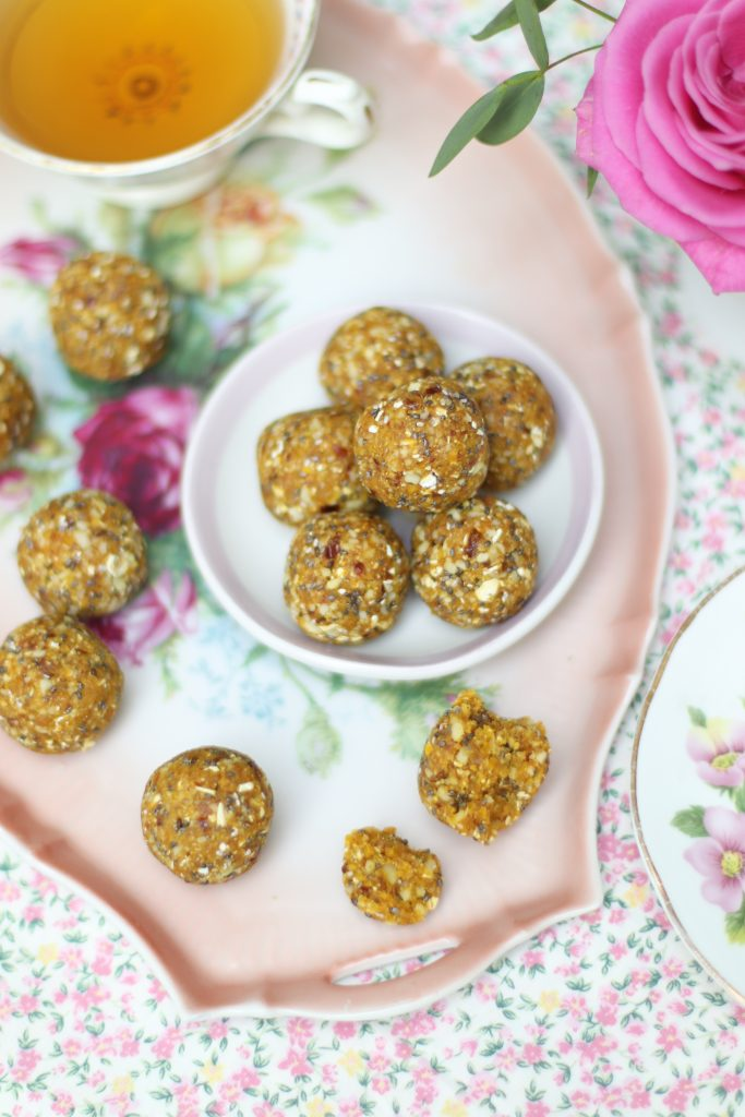 lemon chia seed power balls doterra lemon essential oil